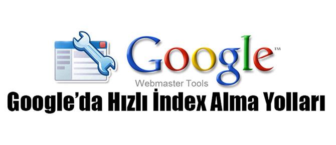 hızlı index yöntemleri